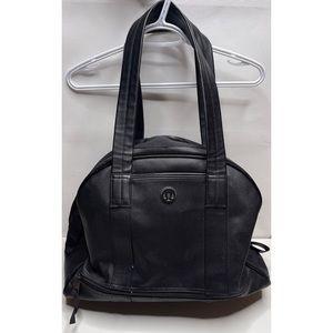 Lululemon om for all black tote gym bag travel